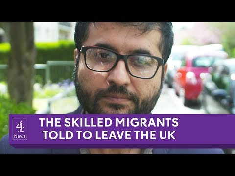 Highly-skilled migrants told to leave UK under 'hostile environment' policy
