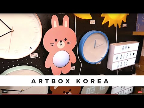💗The Best Artbox Store in the World! 🎁 Myeongdong Shopping in Seoul Korea