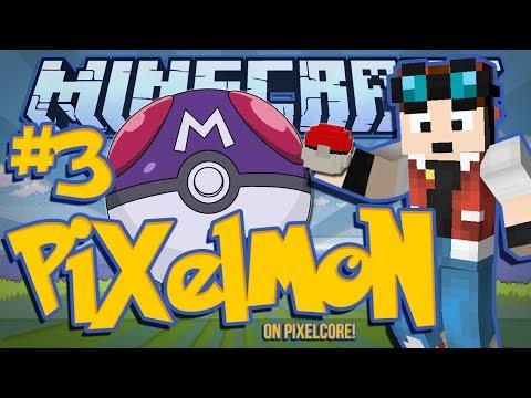A MASTERBALL?! | Minecraft: Pixelmon Mod w/ DanTDM! [#3]
