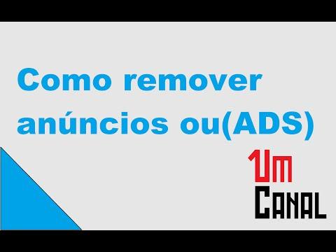 Tutorial: Como remover Ad.blocks (Blocos de Ads)