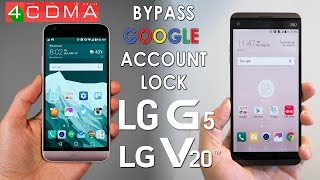 ALL LG G5 V20 US Cellular FRP GOOGLE Account Bypass! Sec