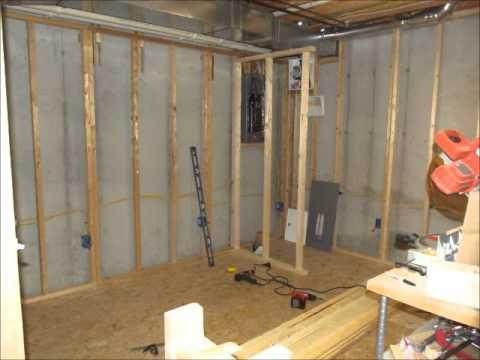 Building the Basement Closet Part 1
