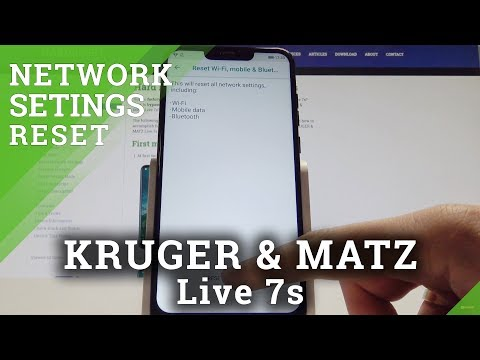 Reset Network Settings KRUGER & MATZ Live 7s - How to Fix Network Connection