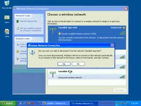 WPA - Windows XP Cert