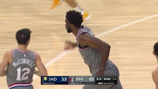 3rd Quarter, One Box Video: Philadelphia 76ers vs. Indiana Pacers