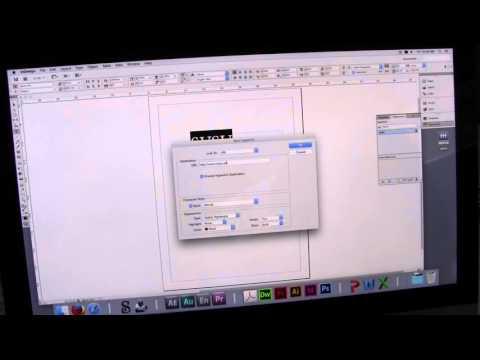 Creating a Hyperlink in Adobe Indesign