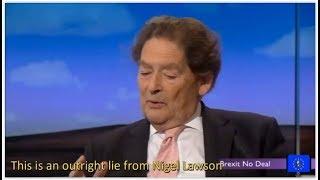 Brexit Fallout: Nigel Lawson