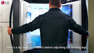 LG Refrigerator - Level Refrigerator to Reduce Common Issues