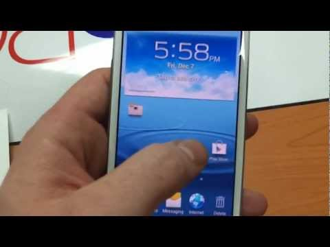 Samsung Galaxy s3 How to Create a Folder for Apps