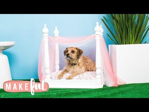 DIY Princess Canopy Pet Bed | Pet Projects