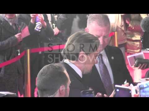 Leonardo DiCaprio at the premiere of