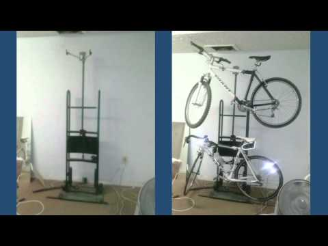 Season 1, Episode 31: Bike rack out of an old appliance dolly