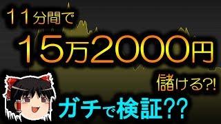 【バイナリーオプション】 11分間で+15万2000円儲ける。ガチで検証  【初心者、シグナルツール】