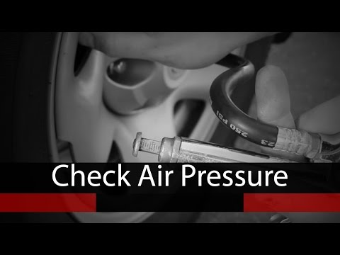 How to Check Tire Air Pressure & Determine Correct PSI