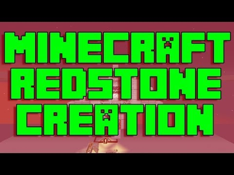 Minecraft Redstone Creation: Telescope in Vanilla Minecraft