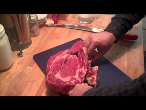Cutting Steaks from Prime Rib Roast to Save Money