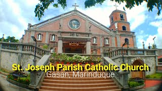 St. Joseph Parish Catholic Church || Gasan Marinduque ( No Copyright Background Music )