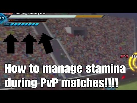 Dragon ball xenoverse 2 How to manage your stamina in PVP!!!
