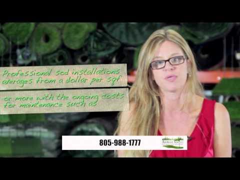 Artificial Grass Costs in Los Angeles, Santa Barbara, Beverly Hills, Pasadena, CA
