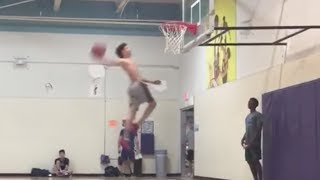 LaMelo Ball Gets Up for INSANE Dunk!