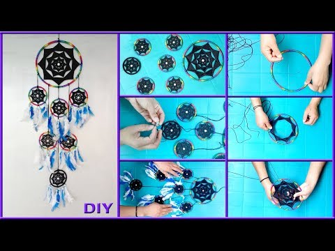 DIY How to make Dreamcatcher at home