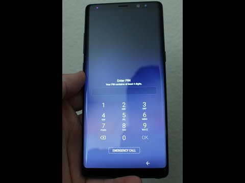 Samsung NOTE 8    Reset forgot  PASSWORD or Pattern