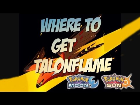 How To Get Hidden Ability Talonflame in Pokémon Sun and Moon How to get talonflame with gale wings!