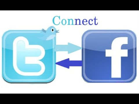 How to Link/Connect TwitteR  Account With FaceBooK Profile/Account/Fan Page By Easy Tutorial.