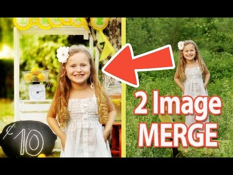 ‪How To Put One Picture Into Another Picture Using Photoshop‬ - Beginner ‪Photoshop Tutorial