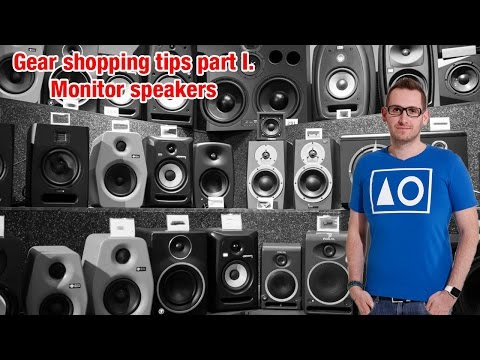 Gear shopping tips part 1: Monitor Speakers - Let's Talk About Show By Dan Domino