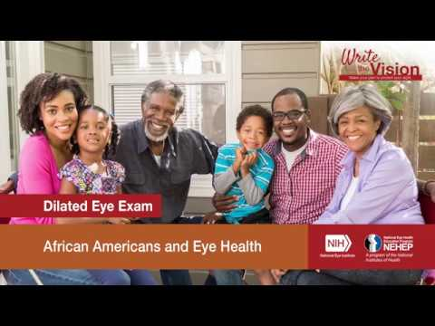 Write the Vision: Dilated Eye Exam
