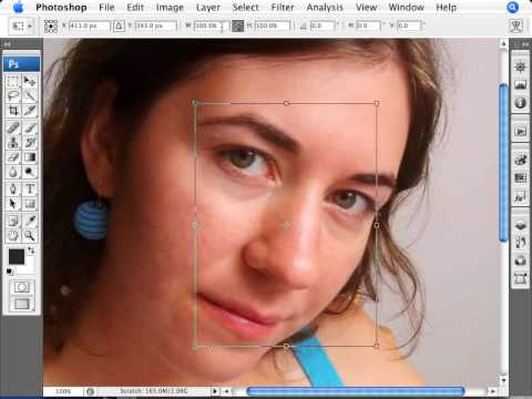 Learn Photoshop - How to Perform a Digital Nose Job
