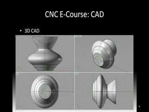 CNC Basics E-Course 3   CAD   Learn CAD Video   CAD/CAM Tips