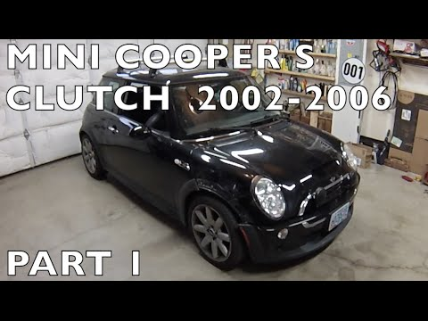 2002-06 MINI Cooper S Clutch Replacement Part 1 of 2