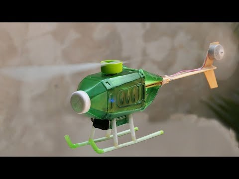 How to make remote helicopter at home - a helicopter by TV remote