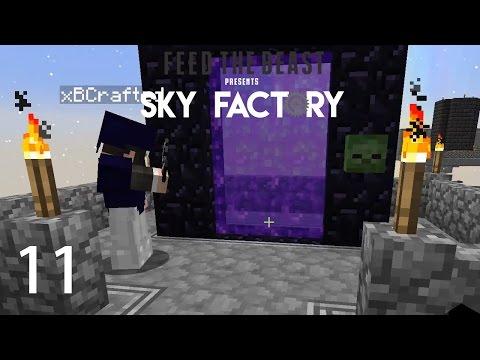 Sky Factory 3 w/ xB - NETHER ADVENTURE [E11] (Minecraft Modded Sky Block)