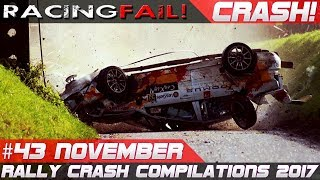 Rally Crash Compilation Week 43 November Rallye du Condroz 2017 Special | RACINGFAIL ReUp