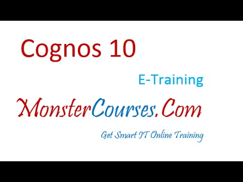 Creating project in Framework Manager | Cognos Online Training