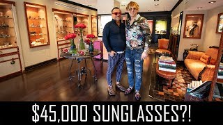 $45,000 Sunglasses by The Luxuriator!