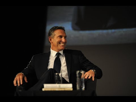 Howard Schultz, Starbucks CEO Talks Business