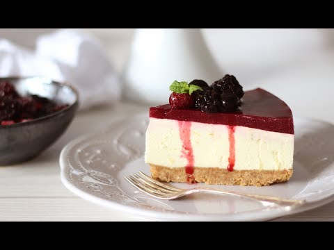 Berry Cheesecake Recipe | No Bake Cheesecake Recipe