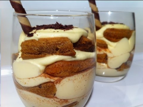HOW TO MAKE TIRAMISU CUPS: with Baileys Irish Cream