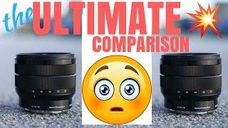 Sony 10-18mm vs Sony 10-18mm