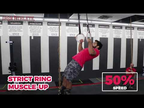 Strict Ring Muscle up
