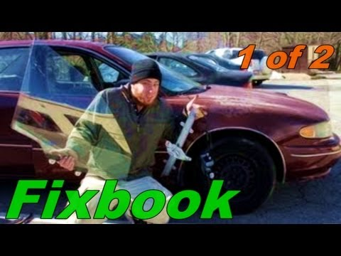 Slow, or Stuck, Window Regulator & Motor Remove & Replace Buick