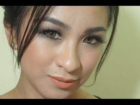 Sultry Black Makeup Look