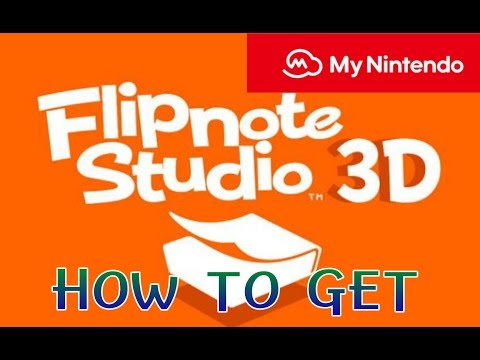 How to get Flipnote Studio 3D on 3DS through My Nintendo Awards (ONLY WORKS IF YOU'RE FROM THE U.S.)