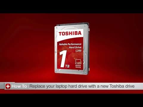Toshiba How-To: Replacing the hard drive on your laptop with a new Toshiba hard drive
