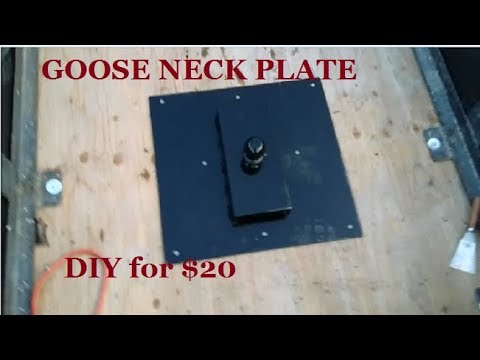 GOOSE NECK HITCH for $20 Dollars RV SALVAGE FUN