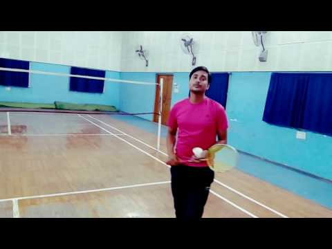 How to improve your  backhand in Badminton simple steps